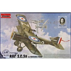 Roden 1/48 Британский истребитель RAF S.E.5a c двигателем Wolseley Viper. № 416