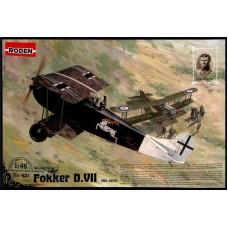 Roden 1/48 Германский самолет Fokker D.VII Alb early. № 421