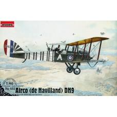 Roden 1/48 Британский дневной бомбардировщик Airco De Havilland D.H.9. № 423