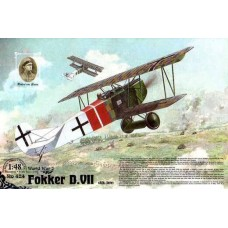 Roden 1/48 Германский самолет Fokker D.VII Alb late. № 424