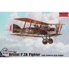 Roden 1/48 Британский лёгкий бомбардировщик Bristol F.2B (с мотором для пустынных территорий). № 429