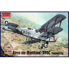 Roden 1/48 Британский самолет de Havilland D.H.9 Commercial. № 435