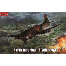 Roden 1/48 Американский лёгкий штурмовик North American T-28D Trojan. № 450