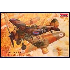Roden 1/48 Британский истребитель Gloster Gladiator MK.I. № 408