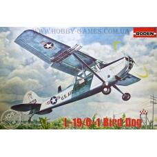 Roden 1/48 Американский самолет связи и корректировщик огня Cessna O-1 Bird Dog. № 409