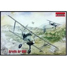 Roden 1/48 Немецкий истребитель Arado Ar 68E. № 427