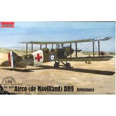 Roden 1/48 Британский медицинский самолет de Havilland D.H.9. № 436