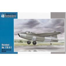 Special Hobby 1/48 Немецкий экспериментальный самолет Heinkel He.178V-1. № 48175