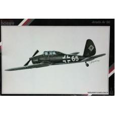 Special Hobby 1/48 Немецкий тренировочный самолет Arado Ar-96B. № 48006