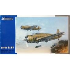 Special Hobby 1/48 Итальянский одноместный штурмовик Breda Ba.65A-80. № 48053
