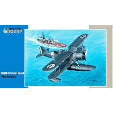 Special Hobby 1/48 Итальянский катапультный истребитель-гидроплан IMAM (Romeo) Ro.44. № 48169