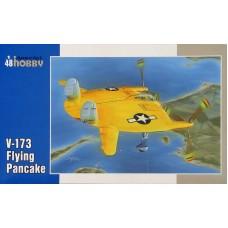 "Special Hobby 1:48 Американский экспериментальный самолет Vought V-173 ""Flying Pancake"". № 48121"