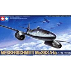Tamiya 1/48 Немецкий реактивный истребитель Me-262A-1a (Clear Edition). № 61091