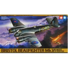 Tamiya 1/48 Британский двухместный тяжёлый ночной истребитель Bristol Beaufighter Mk.VI. № 61064