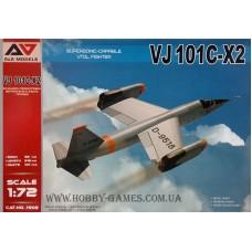 A&A Models 1/72 Немецкий экспериментальный реактивный истребитель EWR VJ 101C-X2. № 7202
