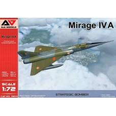 A&A Models 1/72 Французский сверхзвуковой дальний бомбардировщик Mirage IVA. № 7204