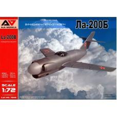 A&A Models 1/72 Советский истребитель-перехватчик Ла-200Б. № 7205