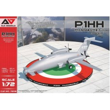 A&A Models 1/72 Итальянский дальний разведывательный БПЛА, Piaggio Aerospace P.1HH HammerHead. № AAM_7206