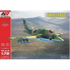 A&A Models 1/72 Советский экспериментальный штурмовик Ил-102. № 7211