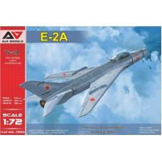 A&A Models 1/72 Советский экспериментальный легкий фронтовой истребитель Е-2А. № 7220