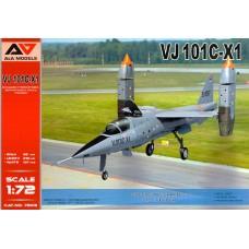 A&A Models 1/72 Немецкий экспериментальный реактивный истребитель EWR VJ 101C-X1. № 7203