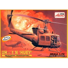"AEROPLAST 1/72 Американский вертолет UH-1N Iroquois ""Desert Storm"". № A-134"