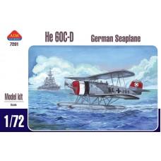 AIM Fan Model 1/72 Немецкий корабельный катапультный разведчик-корректировщик Heinkel He.60C/D. № AIM7201