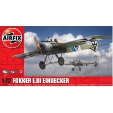 Airfix 1/72 Германский истребитель Fokker E.III Eindecker. № A01087