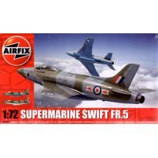Airfix 1/72 Британский тактический разведчик Supermarine Swift F.R. Mk5. № A04003