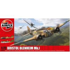 Airfix 1/72 Британский скоростной лёгкий бомбардировщик Bristol Blenheim MkI. № A04016
