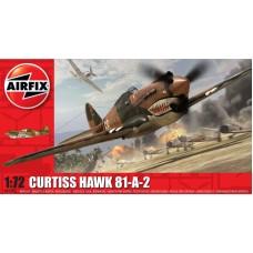 Arfix 1:72 Британский истребитель Curtiss Hawk 81-A-2, American Volunteer Group, Китай 1942 год. № A01003