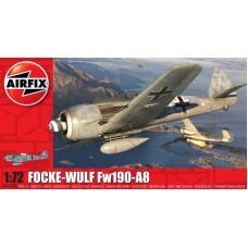 Airfix 1/72 Немецкий истребитель Focke-Wulf Fw-190A-8. № A01020A