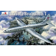 Amodel 1/72 Британский экспериментальный пассажирский самолет Bristol Brabazon I. № 72028
