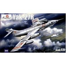Amodel 1/72 Советский фронтовой разведчик Як-27Р. № 72111