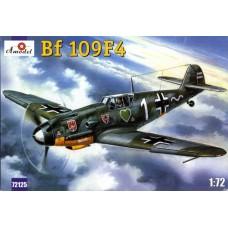 Amodel 1/72 Немецкий истребитель Messerschmitt Bf.109F-4. № 72125