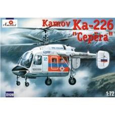Amodel 1/72 Российский вертолет Ка-226. № 72129