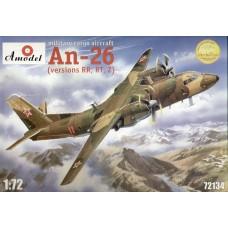 Amodel 1/72 Советский военно-транспортный самолёт АН-26. № 72134