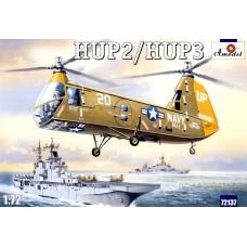 Amodel 1/72 Американский транспортный вертолёт Piasecki HUP-2/HUP-3. № 72137