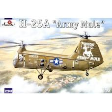 Amodel 1/72 Американский транспортный вертолёт Piasecki H-25A. № 72147