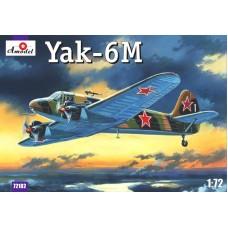 Amodel 1/72 Советский военно-транспортный самолет Як-6М. № 72182
