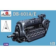 Amodel 1/72 Немецкий авиационный двигатель DB-601 A/E. № 72190