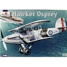 "Amodel 1/72 Британский морской разведчик-корректировщик Hawker ""Osprey"". № 72193"