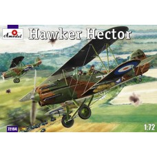 Amodel 1/72 Британский штурмовик Hawker Hector. № 72194