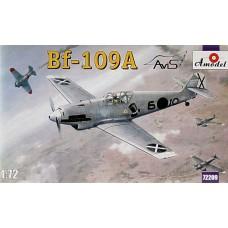 Amodel 1/72 Немецкий истребитель Messerschmitt Bf.109A. № 72209