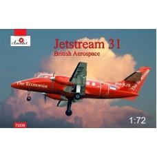 Amodel 1/72 Британский пассажирский самолёт Jetstream 31. № 72238