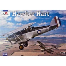 Amodel 1/72 Британский легкий бомбардировщик Hawker Hart. № 72240