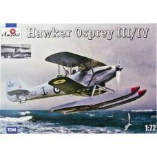 "Amodel 1/72 Британский морской разведчик-корректировщик Hawker ""Osprey"" III/IV. № 72241"