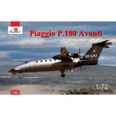 Amodel 1/72 Итальянский административный самолет Piaggio P.180 Avanti. № 72301