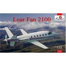 Amodel 1/72 Американский административный самолёт Lear Fan 2100. № 72310