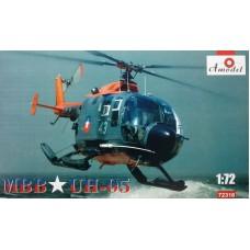Amodel 1/72 Многоцелевой ударный вертолет MBB Bo-105 UH-05 Chilean Air Force. № 72316
